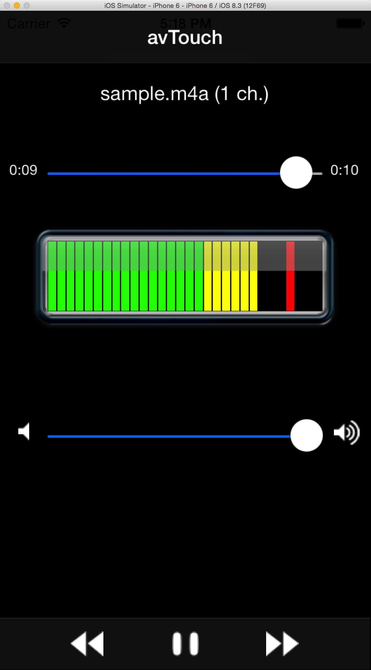How do you add a play/pause bar in Swift? — Like A House Afire